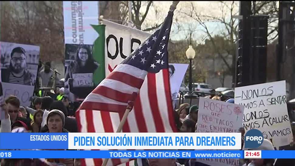 Inician huelga de hambre en apoyo a dreamers en EU