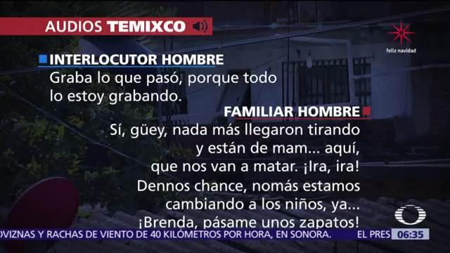 Sigue investigación sobre operativo del Mando Único de Morelos en Temixco