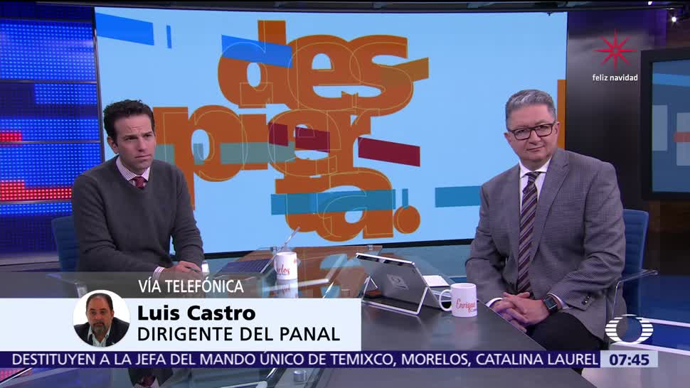 Luis Castro habla en Despierta de posible alianza entre Panal y PRI