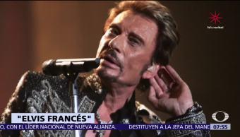 Muere Johnny Hallyday, la más grande estrella del rock en Francia