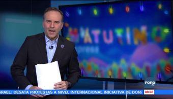 Matutino Express del 7 de diciembre con Esteban Arce (Bloque 1)