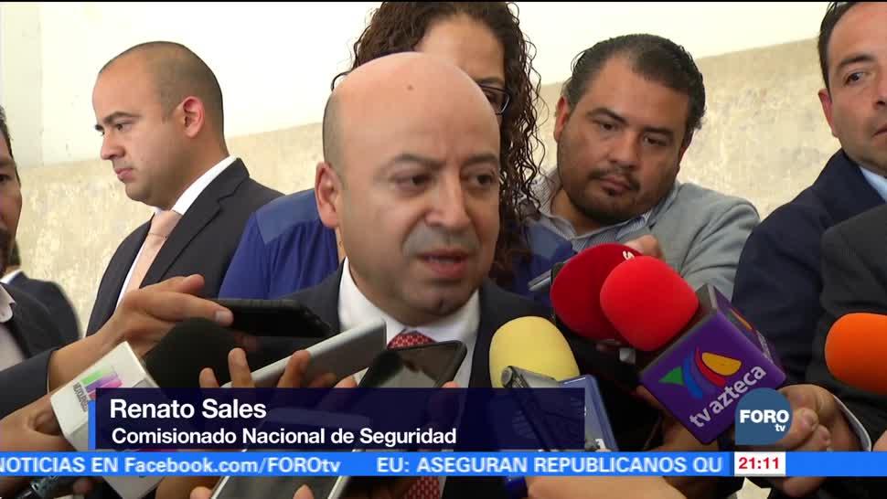 Complejo retirar fuerzas armadas de las calles: Renato Sales