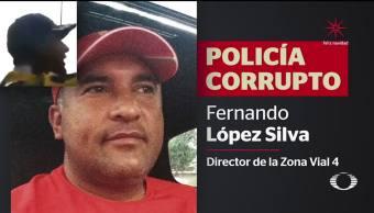 Sigue habilitado jefe de la Policía que enseñaba 'el arte de robar'