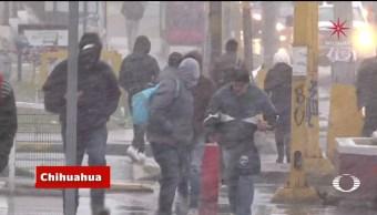 Efectos de la primera tormenta invernal en México