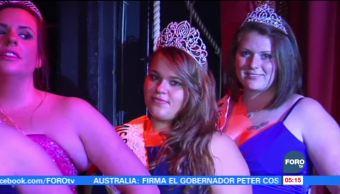Concurso 'Miss Redonda' busca poner fin a la discriminación en Francia