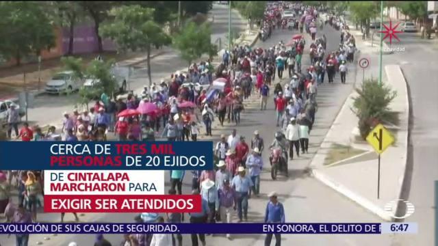 Damnificados del sismo 7S en Cintalapa no tienen tarjetas del Fonden