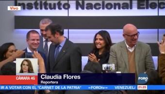 INE formalizará colación electoral 'Por México Al Frente'