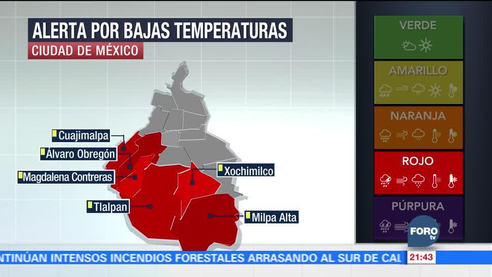 Prevalecerá ambiente muy frío en México