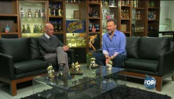 Leo Zuckemann entrevista al curador Patrick Charpenel