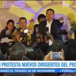 Manuel Granados nuevo presidente nacional del PRD