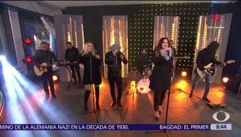 Yuridia ofrece un musical en Al Aire con Paola