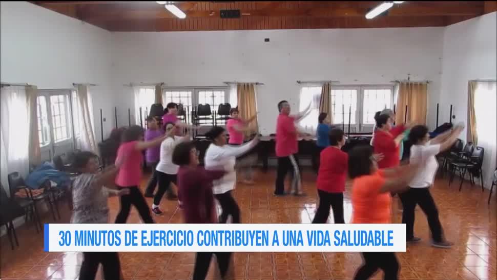 Extra Extra: 30 minutos de ejercicio contribuyen a una vida saludable