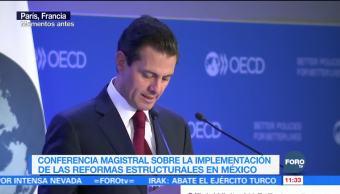 Cambios en México, sustentados en 13 reformas estructurales: EPN