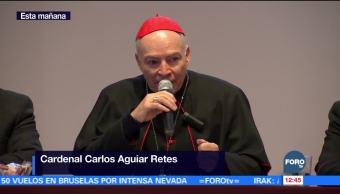 Carlos Aguiar, arzobispo primado de México, habla de una renovación eclesial