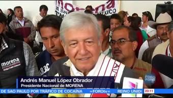 AMLO confirma su registro como precandidato presidencial