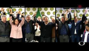 Barrales, Chertorivsky y Ahued, buscan candidatura del PRD a la CDMX