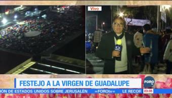 Miles de peregrinos arriban a la Basílica de Guadalupe