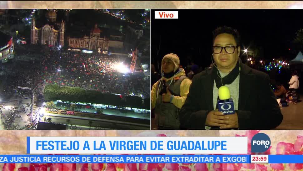 La Basílica de Guadalupe recibe a millones de feligreses