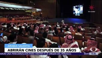 Arabia Saudita permitirá apertura de cines, después de 35 años de prohibición