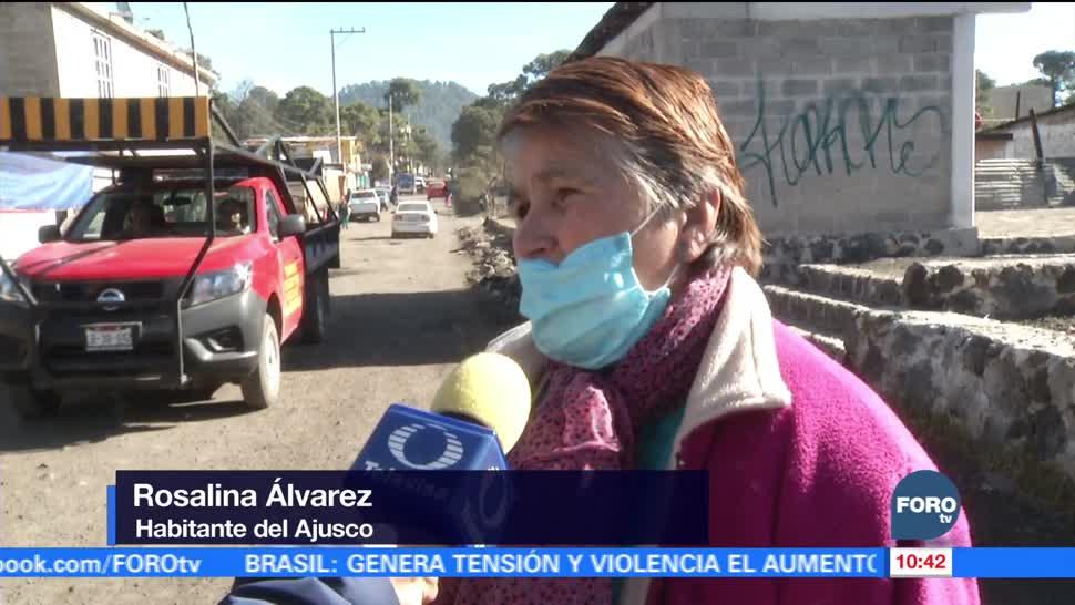 Reportan heladas en varias delegaciones de la CDMX