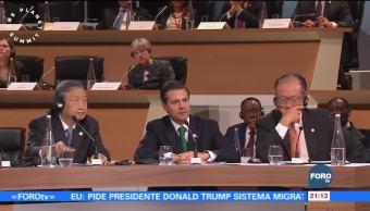 México, firme con el Acuerdo de París: EPN