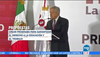 AMLO solicitó registro como precandidato presidencial de Morena