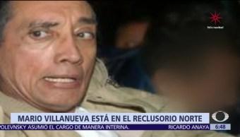 Mario Villanueva, trasladado al Reclusorio Norte
