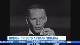 #LoEspectaculardeME: Rinden tributo a Frank Sinatra