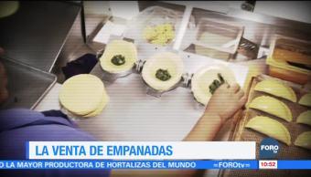 La elaboración y venta de empanadas