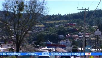 Temperaturas de hasta 7 grados bajo cero en Hidalgo