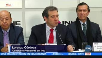 Pide Lorenzo Córdova que contiendas se conduzcan con equidad y legalidad