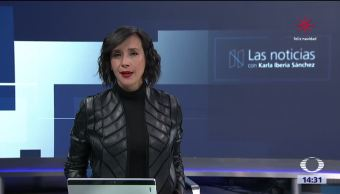 La Noticias, con Karla Iberia Programa del 13 de diciembre de 2017