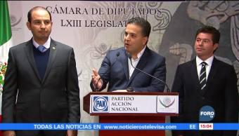 El PRI está dando patadas de ahogado: Damián Zepeda