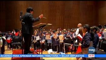 Orquesta infantil de México se presentará en la sala Ollin Yoliztli
