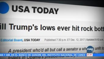 USA Today arremete contra Trump