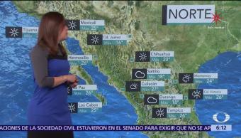 Continuará marcado descenso de la temperatura por nuevo frente frío