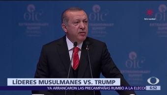 Líderes musulmanes exigen reconocer a Jerusalén Este como capital de Palestina