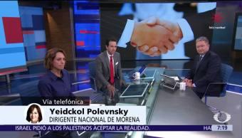 Yeidckol Polevnsky habla en Despierta sobre la alianza electoral de Morena