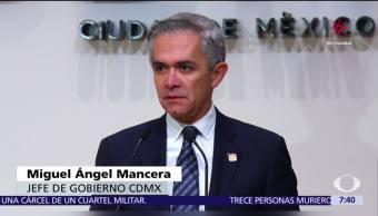 Mancera responde a López Obrador sobre oferta de empleo para 'ninis'