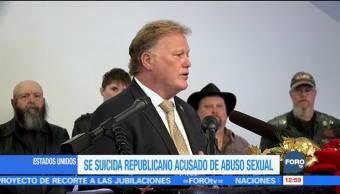 Se suicida el republicano de Kentucky, Dan Johnson