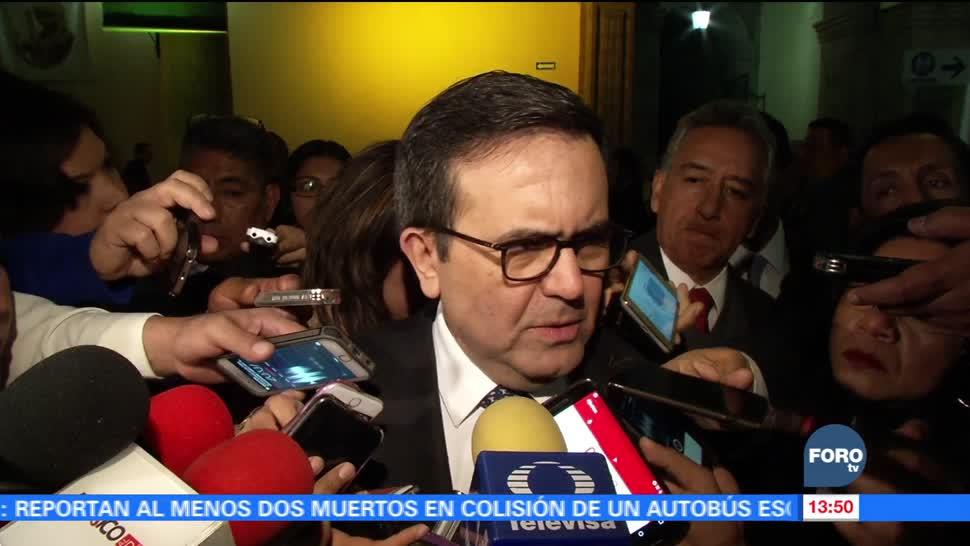 Unión Europea y México avanzan en las negociaciones del Tratado: Ildefonso Guajardo