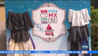 Inicia programa de intercambio de ropa en la CDMX
