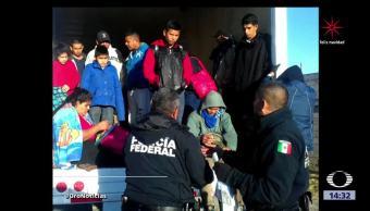 Rescatan a 29 migrantes en Puebla