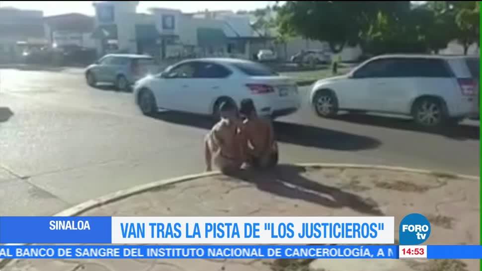 """Autoridades de Sinaloa buscan a """"Los Justicieros"""""""