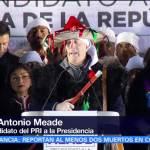 Meade inicia precampaña en San Juan Chamula, Chiapas