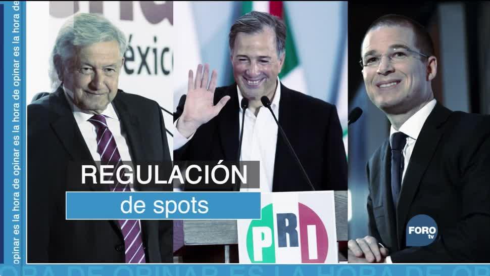 Regulación de spots para elecciones de 2018