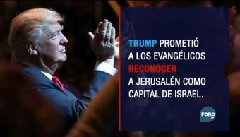 El poder evangélico tras la decisión de Trump sobre Jerusalén