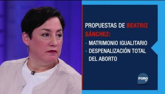 Las elecciones presidenciales de Chile fiel de balanza se llama Beatriz Sánchez