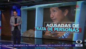 Mujeres migrantes acusadas de trata de personas en México, sin debido proceso