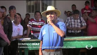 Chalchihuitán rechaza fallo del Tribunal agrario